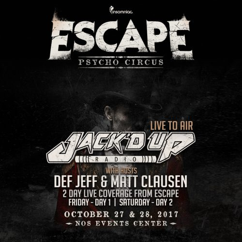 JACK'D UP RADIO – SHOW 073 [Escape Day 2]